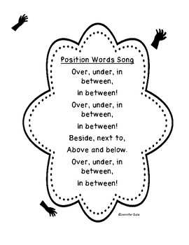 Position Word Song
