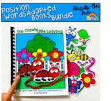 Position Words Adapted Books Bundle