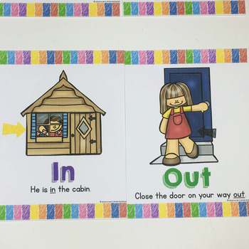 Preposition Anchor Charts