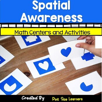 Spatial Awareness Center Activities and Worksheets