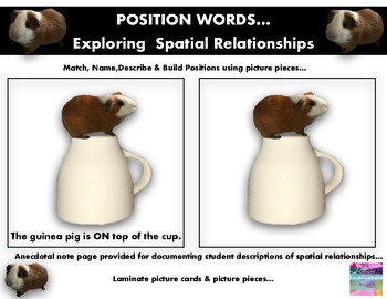 Position Words * Exploring Spatial Relationships