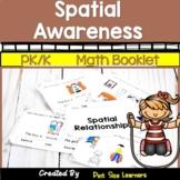 Kindergarten Position Words Daily Math Journal | Spatial Concepts Activities