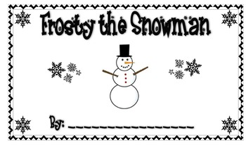 Position Words Reader-Frosty the Snowman