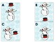 Position Words Snowman Winter Themed Daily 5 Word Work or Math Center Activity