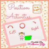 Position activities for maths