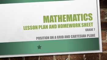 Grade 7 Position on a grid and the Cartesian plane