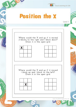 """Position the """"X"""""""