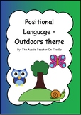 Positional Language - Outdoors Theme