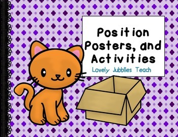 Positional Language Posters and Activities