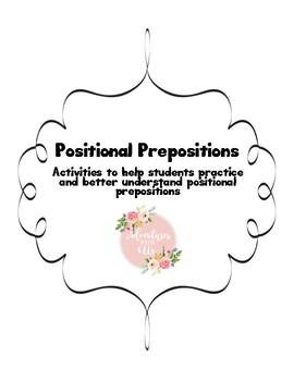 Positional Preposition Activities