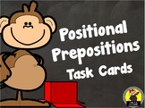 Positional Prepositions Task Cards