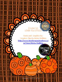 Positional Pumpkins
