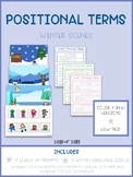 Positional Terms: Winter Scenes