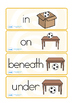 Positional Vocabulary Cards