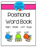 Positional Word Book - Right  Middle  Left