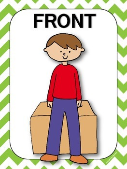 Positional Word Classroom Posters {CC.K.G.1}