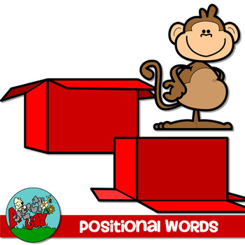 Positional Word Clip art