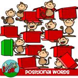 Preposition Positional Word Clip art