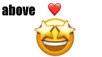 Positional Word Emoji Posters