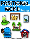 Positional/Directional Word Posters {Teaching Prepositions}