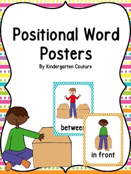 Positional Word Posters