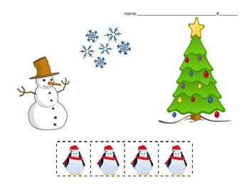 Positional Word Review - Holiday Themed