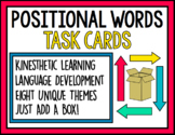 Positional Word Task Cards