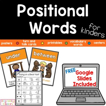 Positional Words For Kinders