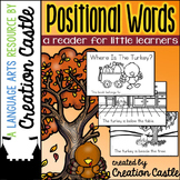 Positional Words Guided Reading Book