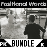 Positional Words Activities | BUNDLE | Position Word Worksheets