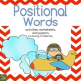 Positional Words (Placement Words) Digital Boom Cards and Printable Activities