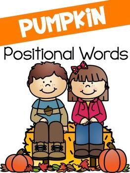 Positional Words! An Interactive Pumpkin Activity