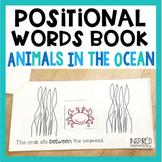 Positional Words Book: Animals in the Ocean