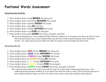 Kindergarten Assessment Forms and Sight Word Book | Kindergarten ...