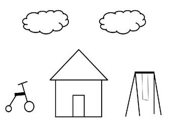Positional Words Assessment Preschool & Kindergarten Differentiated Precious