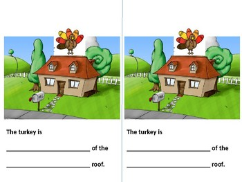 Positional Words Book