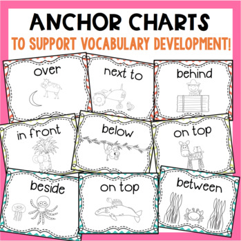 Positional Words Book Bundle!