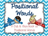 Positional Words Book - FREEBIE