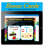Positional Words   Directional Words - 45 Boom Cards