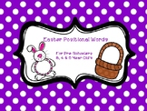Positional Words - Easter