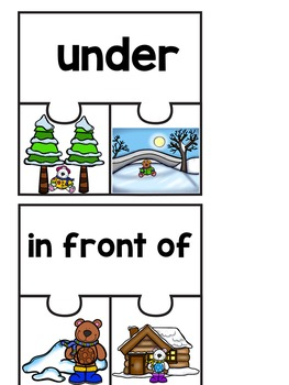 Positional Words Emergent Reader (A Winter/December/January Dollar Deal)