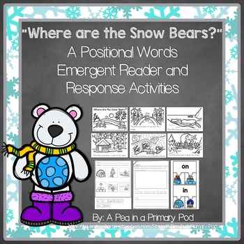 Positional Words Emergent Reader (A Winter/December/Januar