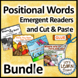 Positional Words Emergent Readers and Cut & Paste Versions