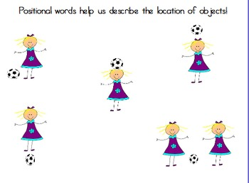 Positional Words Flipchart