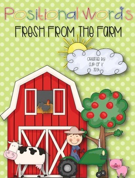 """Positional Words """"Fresh From the Farm"""""""