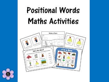 Positional Words using Rosie's Walk - Maths Activities