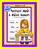 Positional Words | Positional Words Activities | Games & Bingo