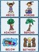 Positional Words | Positional Words Activities | Games & Bingo