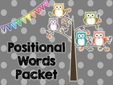 Positional Words Packet