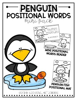Positional Words: Penguin Pack